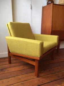 1960's Danish lounge chair designed by Erik Jorgensen reupholstered (SOLD)