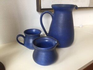 Grove Pottery - creamer still available - note small chip in the spout - (SOLD)