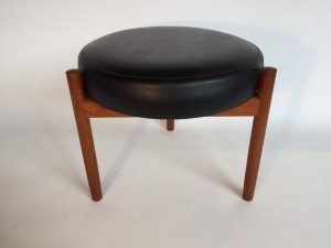 Fantastic 3 legged stool by Spottrup - Made in Denmark - excellent vintage condition - (SOLD)