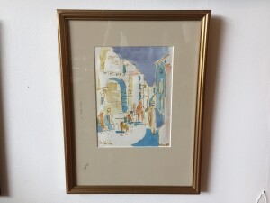 Herbert Siebner, a member of the Limners, a prominent group of Victoria-based artists, was born in 1925 to a cultured family in the city of Stettin, Germany - walercolor - '89 - $500