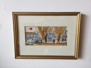 Herbert Siebner, a member of the Limners, a prominent group of Victoria-based artists, was born in 1925 to a cultured family in the city of Stettin, Germany (SOLD)