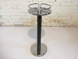 Unique and original vintage 1979 stainless steel Alessi 5059 wine cooler stand, a great example of a professional kitchen accessory, a smart choice to create in your interior that typical, tough, industrial kitchen look.or we were thinking it would make a really cool plant stand $300