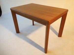 "Vintage teak side table by Vejle Stole - Made in Denmark - great vintage ondition 29.5"" L X 20"" D X 20"" H (SOLD)"
