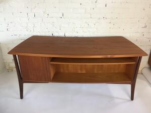 the gorgeous back side :) of the Svend Aage Madsen for H.P. Hansen teak desk
