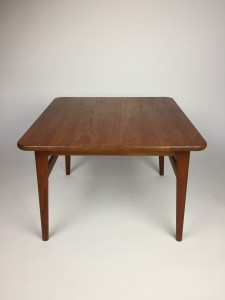 Fantastic 1960's MId-century Modern Solid teak square coffee table /side table /ocassional table - newly refinished and looking fabulous - (SOLD)