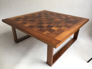 Exceptional Mid-century Modern Rosewood coffee table designed by Poul Cadovius for France and Son - Made in Denmark - gorgeous refinished condition - (SOLD)
