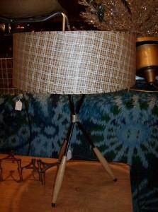 Fantastic Mid-century modern 1950's lamp by designer Gerald Thurston - (SOLD)