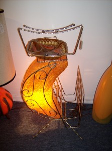Cool retro light/magazine/ashtray all in one...(SOLD)