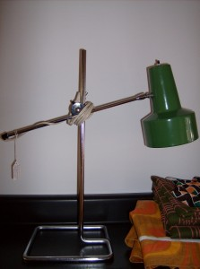 Fabulous Retro/Mid-century modern adjustable table/desk lamp - (SOLD)