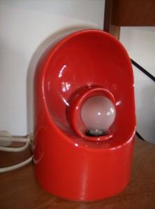 !960's Italian ceramic lamp designed by Architect Marcello Cuneo for Gabianelli - (SOLD)