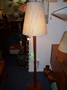 Classic Mid-century modern teak floor lamp - (SOLD)