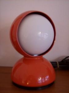 Fantastic original Atomic 1960's Eclisse(Eclipse) table lamp designed by Vico Magistretti for Artemide - Italian - (SOLD)