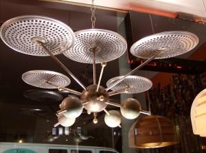Unbelievable Atomic/Sputnik sculpture - many uses - you decide!! - (SOLD)