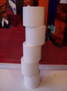 Fantastic ceramic vase -great design - signed - (SOLD)