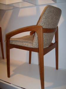 Killer set of 4 Danish teak dining chairs designed by one of Denmark's most talented designer's Kai Kristiansen manufactured by Korup Stolefabrik Denmark -  - Priced as a set - (SOLD)