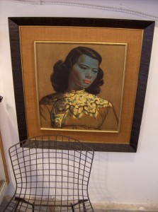 """Arguably the most well known of Tretchikoff's subjects """"Chinese Girl"""" - beautifully double framed - in really excellent vintage condition - (SOLD)"""