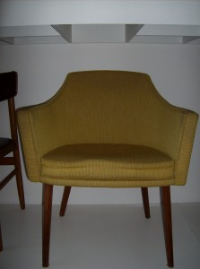 1960's Canadian designer chair by one of Canada's best - Lief Jacobsen - 2 available - (SOLD)