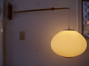 Unbelievable Mid-century modern wall light - they don't get too much better than this - (SOLD)