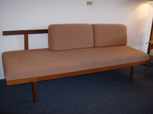 Marvelous Mid-century modern teak daybed w/storage(you have to see it) - this piece not only has serious style, but it is super functional, and is priced to blow your mind - (SOLD)