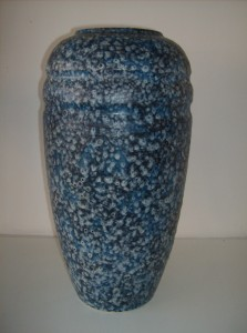 """This is one spectacular West German vase - it stands 20"""" tall - the condition is excellent and the coloring and texture is phenomenal - a definate must have for a collector - (SOLD)"""