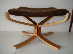 The matching Sigurd Ressell for Vatne Norway bentwood stool - only one - (SOLD)