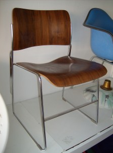Designed in 1964 by American designer David Rowland... this chair (40/4) won Gold in 1964 for it's design & functionality - perfect for any room in you home and/or office - rare to find in the bentwood - did I mention that they stack - 2 available - both (SOLD)