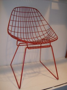 Spectacular vintage wire chair designed by Braakman & Dekker for Ums-Pastoe - Holland - (SOLD)