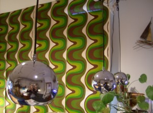Super cool mirrored like chrome pendant lights - would look great over a breakfast bar or hang them in a cluster at different heights in your stairwell and/or over your coffee table - many uses - 3 available - (SOLD)